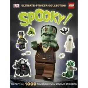New LEGO SPOOKY! Ultimate Sticker Collection BOOK